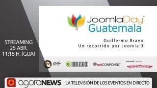 'Un Recorrido Por Joomla 3' Por Guillermo Bravo, En Joomla Day Guatemala
