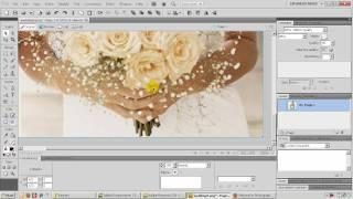 How to create a wedding banner in Fireworks CS3 and CS5