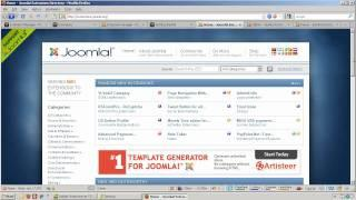 How to install Joomla extensions in Joomla 1.5 and 1.6