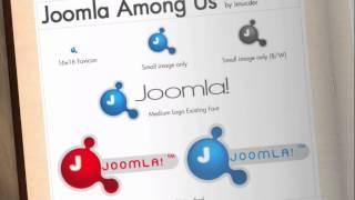Joomla logo-history