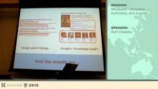 Whodunnit? Microdata, Authorship, and Joomla! - Ruth Cheesley