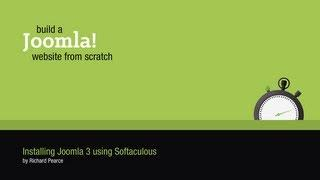 Installing Joomla 3 using Softaculous