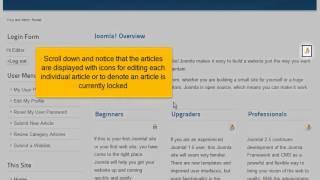 Een overzicht van verschillende gebruikerstypen in Joomla! 2.5