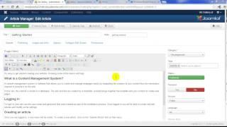 Joomla 3.2 Tutorial #4: Installing Extension