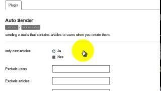 gebruikers automatisch informeren over nieuwe artikelen