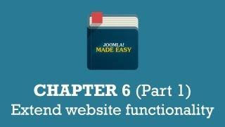 Chapter 6 (Part 1) | Extend website functionality
