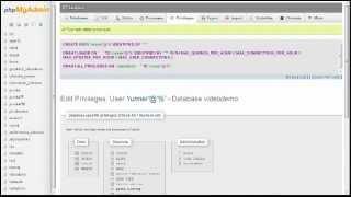 Joomla 2.5 Tutorial - Lesson 7 - Database ~ phpMyAdmin