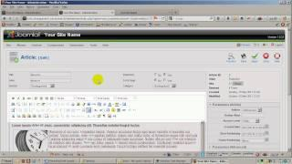 Enable extended functionality on TinyMCE Editor in Joomla 1.5