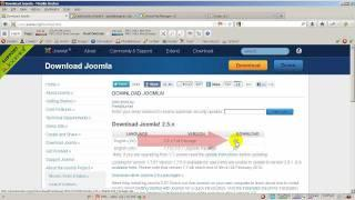 How to Install Joomla 2.5 Manually or Browser Installation