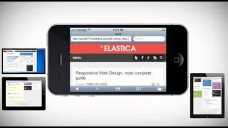 JA Elastica - Free Responsive Design Template for Joomla 2.5!