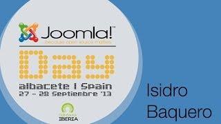 Joomla! Day Spain 2013 Entrevista A  Isidro Baquero