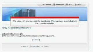Joomla! 1.5 Tutorials:  Installing Joomla with cPanel