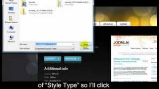 Joomla 1.5 Tutorial - Lesson 11 - Templates