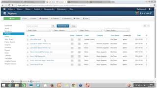 E-Commerce with Joomla 3 and Quick2Cart