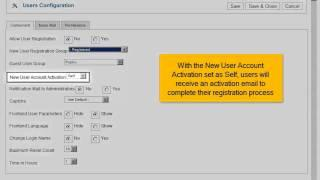 Hoe voorkom je de registratie van nieuwe gebruikers in Joomla! 2.5
