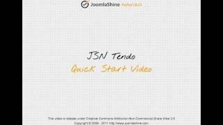 Joomla Templates Tutorials | JSN Tendo Quick Start official video