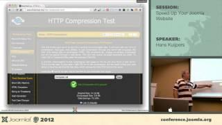 Speed up your Joomla website - Hans Kuijpers