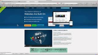Install Joomla 3 on Your Mac