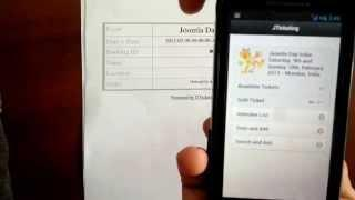 JTicketing For Android At Work - Joomla Day India 2013