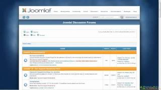 Joomla! 2.5 Tutorial - Overview