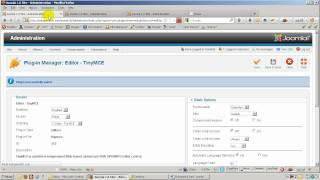 Enable extended functionality on TinyMCE Editor in Joomla 1.6