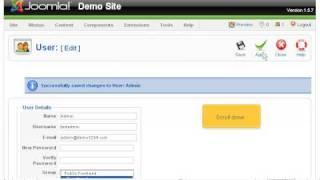 Block or delete Super Administrator in Joomla   SiteGround Joomla Tutorial