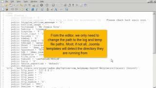 Hoe hernoem je de installatie map van Joomla! 2.5 via FTP