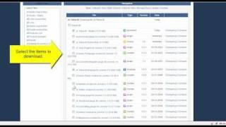 JA Extensions Manager - Video 3
