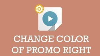 Customize JSN template video: Change color of promo right