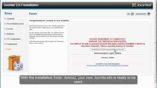 Install Joomla 2.5