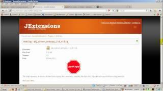 How to disable the mouse right click on Joomla 1.6 - AntiCopy Plugin