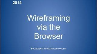 Wireframing Via The Browser (Joomla) - Joomladay Netherlands 2014 #jd14nl