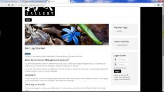 Joomla 3.2 Tutorial #5: Creating Content: Categories&Articles