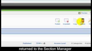 Joomla 1.5 Tutorial - Lesson 7a - Joomla Storage