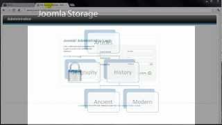 Joomla 2.5 Tutorial (HD) - Lesson 13 - Storage