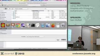 Using JAuthTools to integrate with Enterprise Authentication - Sam Moffatt