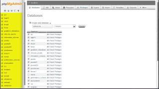 Joomla 2.5 Tutorial (HD) - Lesson 7 - Database ~ phpMyAdmin