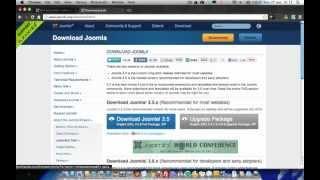 Como Crear Una Pagina Web  Joomla 2.5 Desde Cero - Parte 1