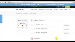 Joomla 3.0 Tutorial #4: Installing a Template