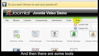 Joomla 1.5 Tutorial - Lesson 6 - Joomla Administrator
