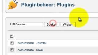 joomla artikelen automatisch archiveren