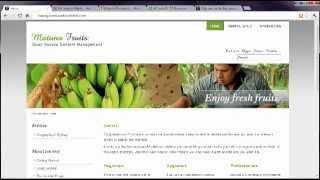 Joomla 2.5 Tutorial - Lesson 18 - Templates