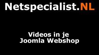 videos in je joomla webshop plaatsen