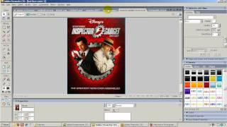 How to create a movie banner in Fireworks CS3 and CS5
