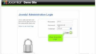 First login in Joomla as admin and password change | SiteGround Joomla Tutorial
