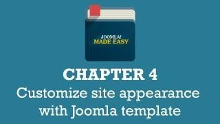 Chapter 4 | Customize site appearance with Joomla template