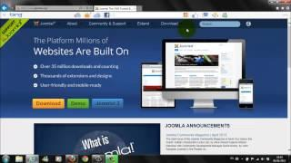 How To Install Joomla 3.0 On Windows 7