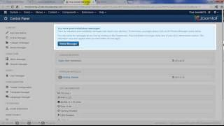 Joomla 3.2 Tutorial #2: Accessing your Demo Instance