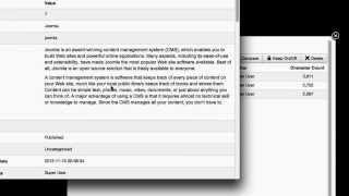 Joomla 3.2 Content Versioning