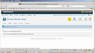 How to update Joomla 1.6 to Joomla 1.6.4 using Extension Manager